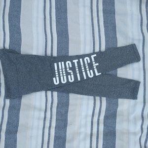 Justice girls leggings
